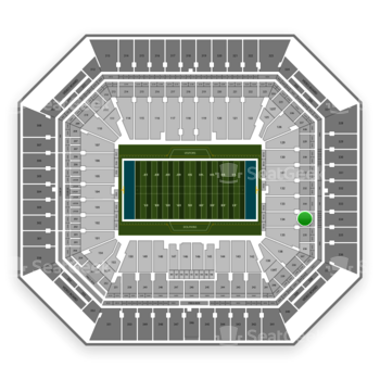 Miami Dolphins at Hard Rock Stadium Section 234 View