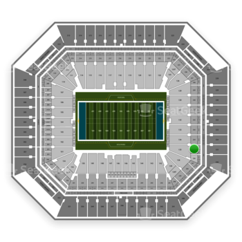 Miami Dolphins at Hard Rock Stadium Section 235 View