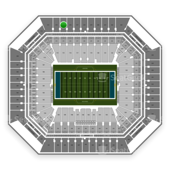 Miami Dolphins at Hard Rock Stadium Section 315 View