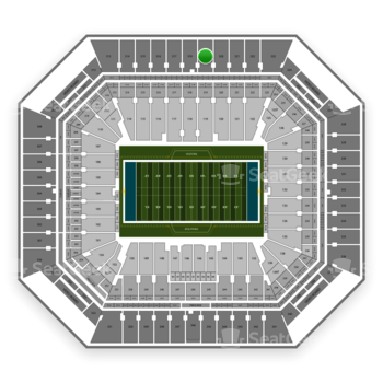 Miami Dolphins at Hard Rock Stadium Section 319 View