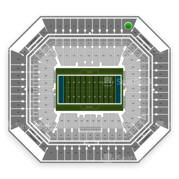 Miami Dolphins at Hard Rock Stadium Section 323 View
