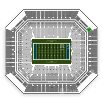Miami Dolphins at Hard Rock Stadium Section 327 View