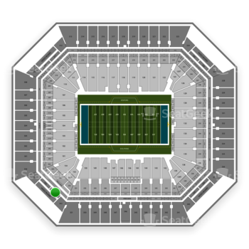 Miami Dolphins at Hard Rock Stadium Section 353 View