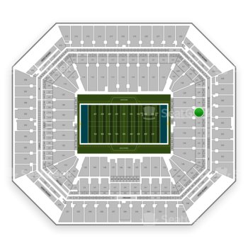 Miami Dolphins at Hard Rock Stadium Section 231 View