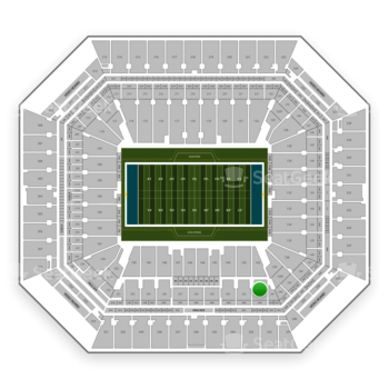 Miami Dolphins at Hard Rock Stadium Section 242 View