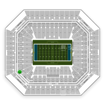 Miami Dolphins at Hard Rock Stadium Sideline Suite 255 A View