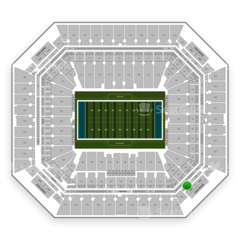 Miami Dolphins at Hard Rock Stadium Section 339 View