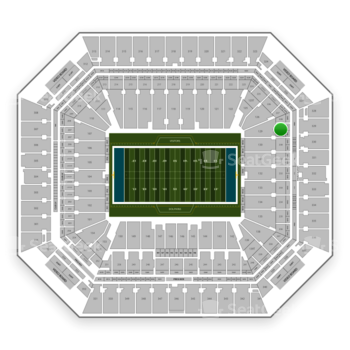 Miami Dolphins at Hard Rock Stadium Section 229 View
