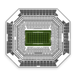 Sun Life Stadium Seating Chart NCAA Football