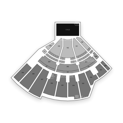 The Wharf Seating Chart Concert