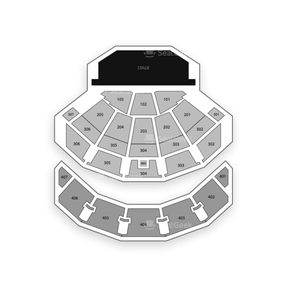Monte Carlo Resort and Casino Seating Chart Concert
