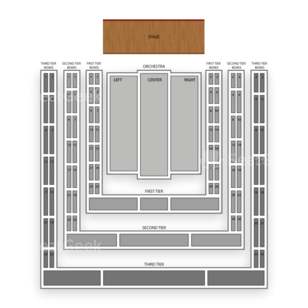 Avery Fisher Hall Seating Chart Concert