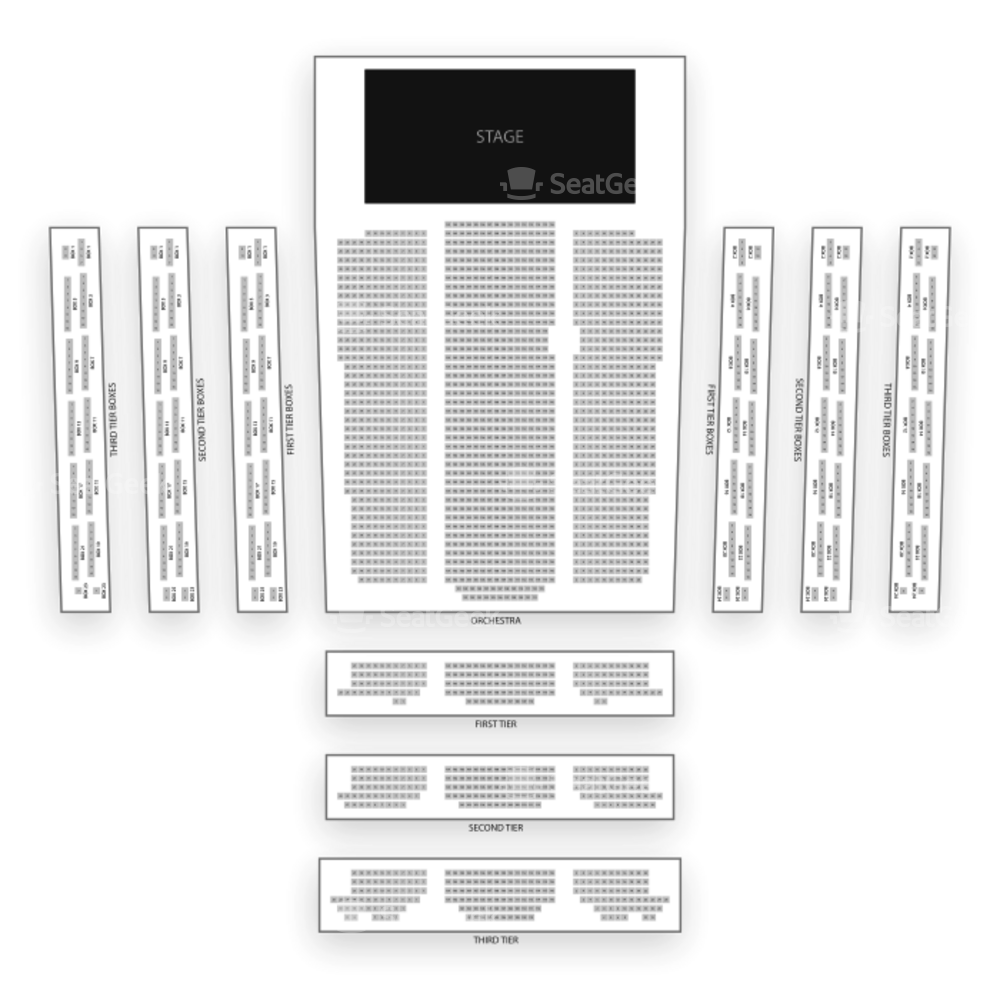 David Geffen Hall Seating Chart Classical