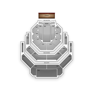 Atwood Concert Hall Seating Chart Theater