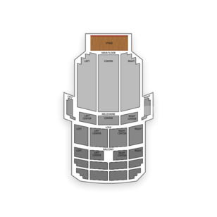 Fisher Theatre Seating Chart Theater