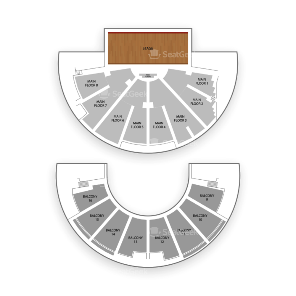 Ryman Auditorium Seating Chart Concert