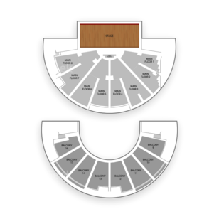 Ryman Auditorium Seating Chart Classical