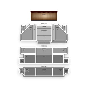 St. James Theatre Seating Chart Comedy