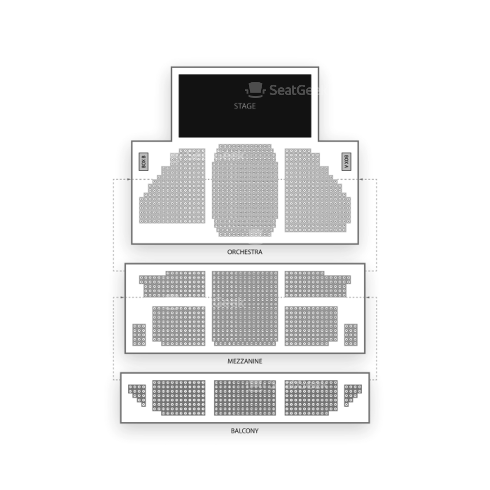 St James Theatre Seating Chart Concert Map Seatgeek Black Box Diagram Ucf Charts