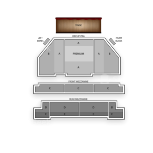 Brooks Atkinson Theatre Seating Chart Broadway Tickets National