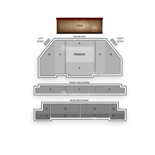 Brooks Atkinson Theatre Seating Chart