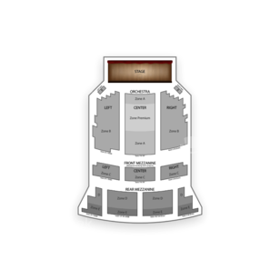Brooks Atkinson Theatre Seating Chart Theater