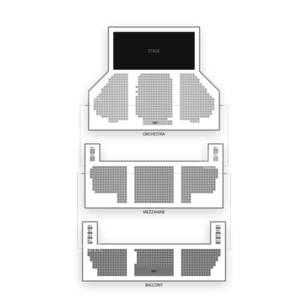 New Amsterdam Theatre Seating Chart Theater