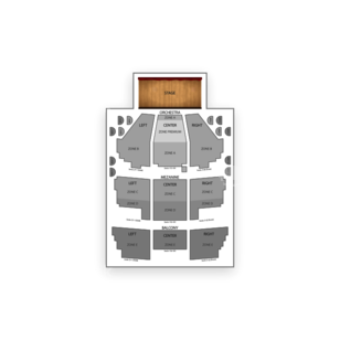 New Amsterdam Theatre Seating Chart Concert