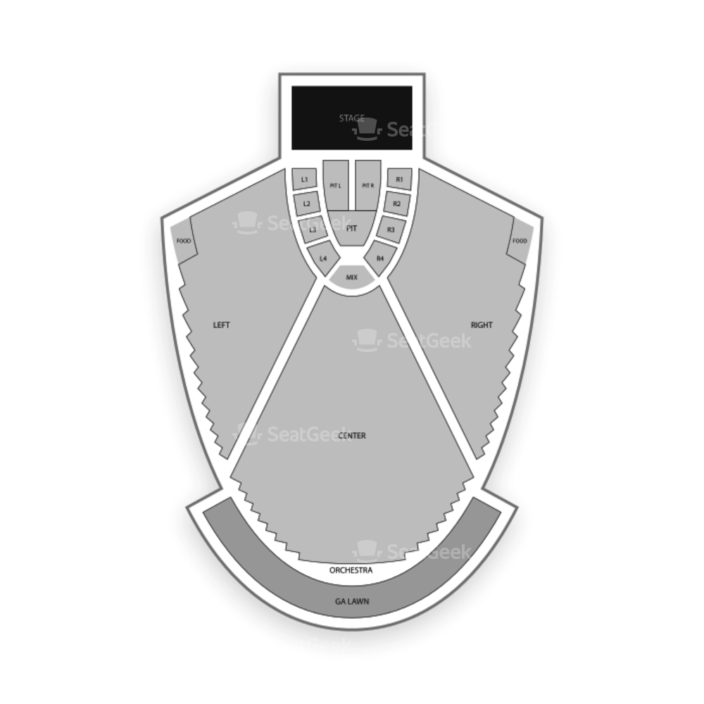 State Bank Amphitheatre at Chastain Park Seating Chart Concert