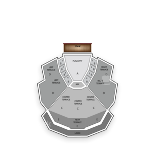 Chastain Park Amphitheatre Seating Chart Comedy