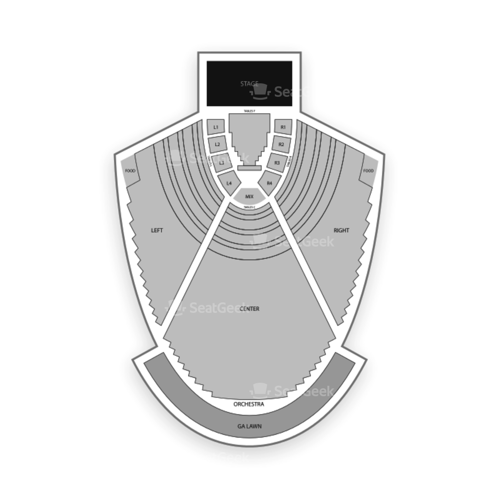 State Bank Amphitheatre at Chastain Park Seating Chart Comedy
