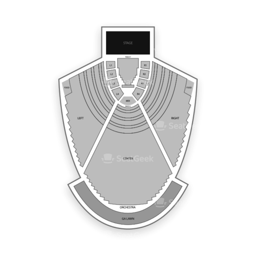 Cadence Bank Amphitheatre at Chastain Park Seating Chart Concert