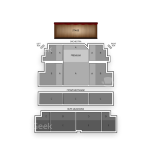 Majestic Theatre Seating Chart Concert
