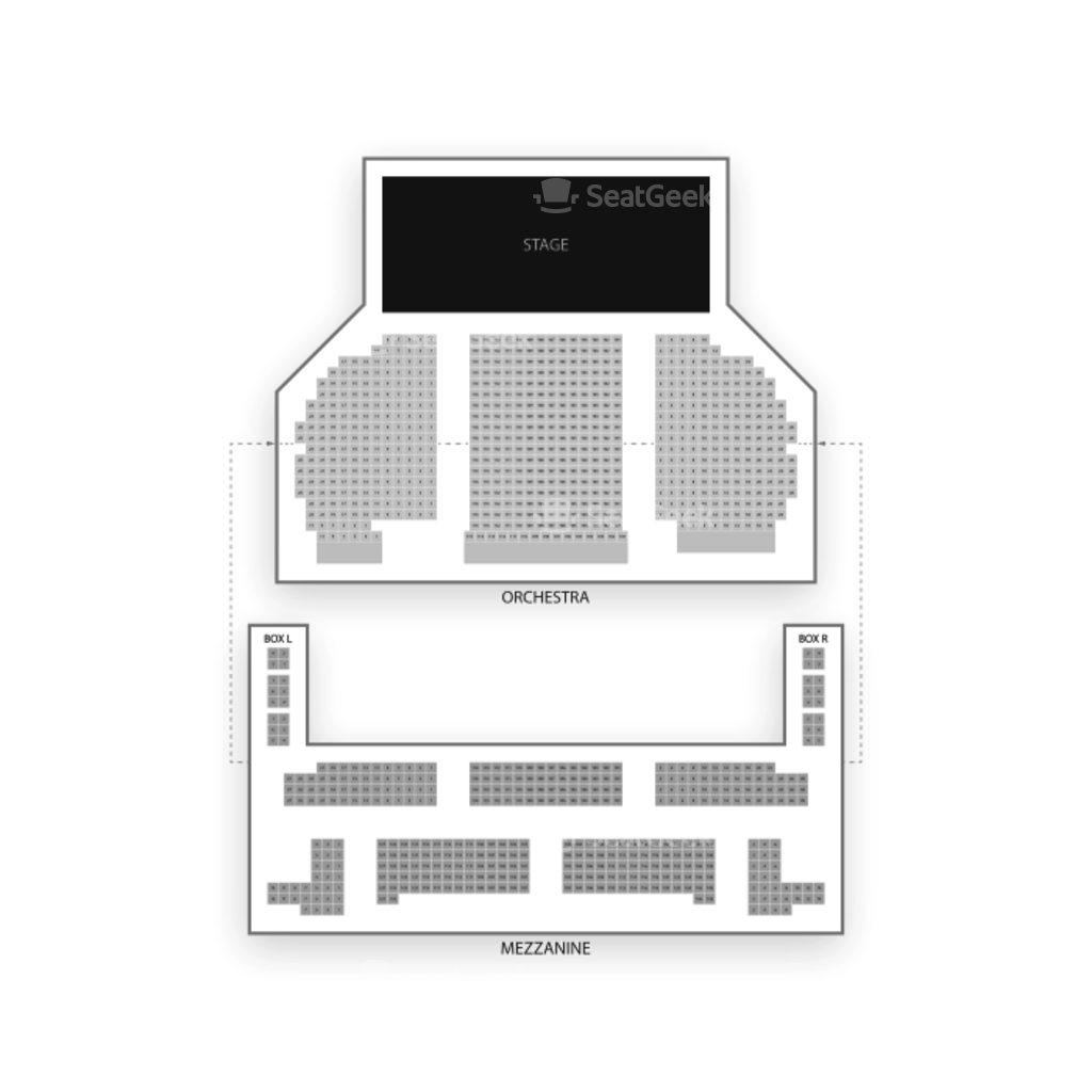 Eugene O'Neill Theatre Seating Chart & Interactive Seat Map | SeatGeek