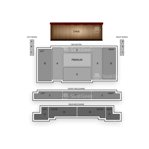 Eugene O'Neill Theatre seating chart The Book of Mormon