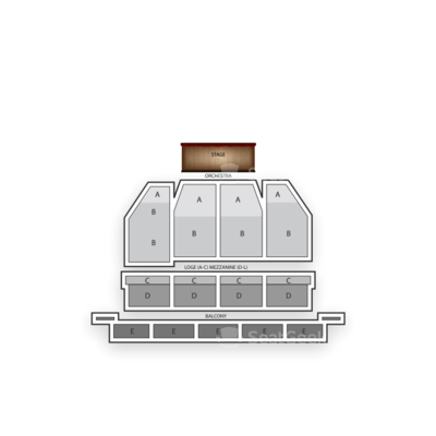 Orpheum Theatre - San Francisco seating chart Matilda the Musical
