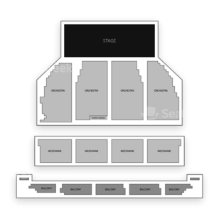 Orpheum Theater San Francisco Seating Chart Concert