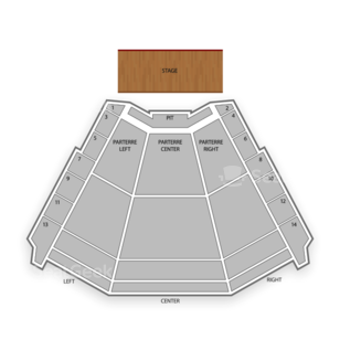 Ruth Eckerd Hall Seating Chart Comedy
