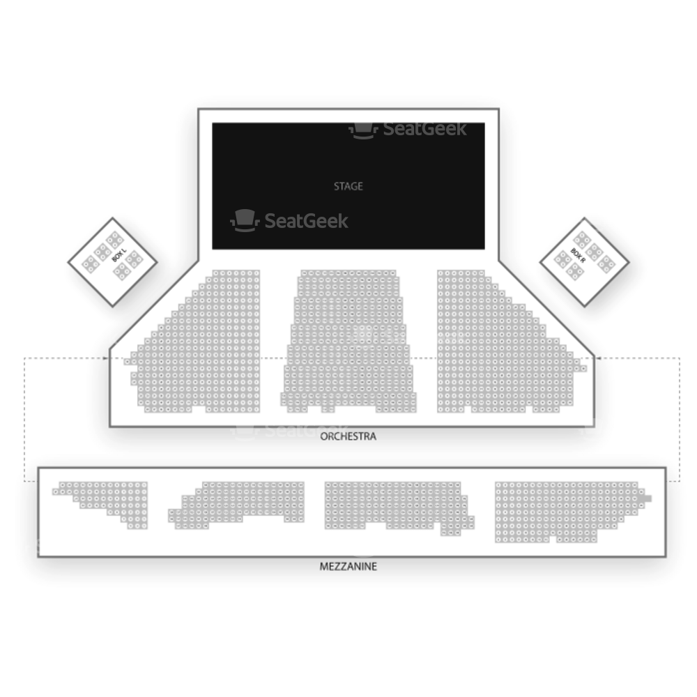 Winter Garden Theatre Seating Chart Concert