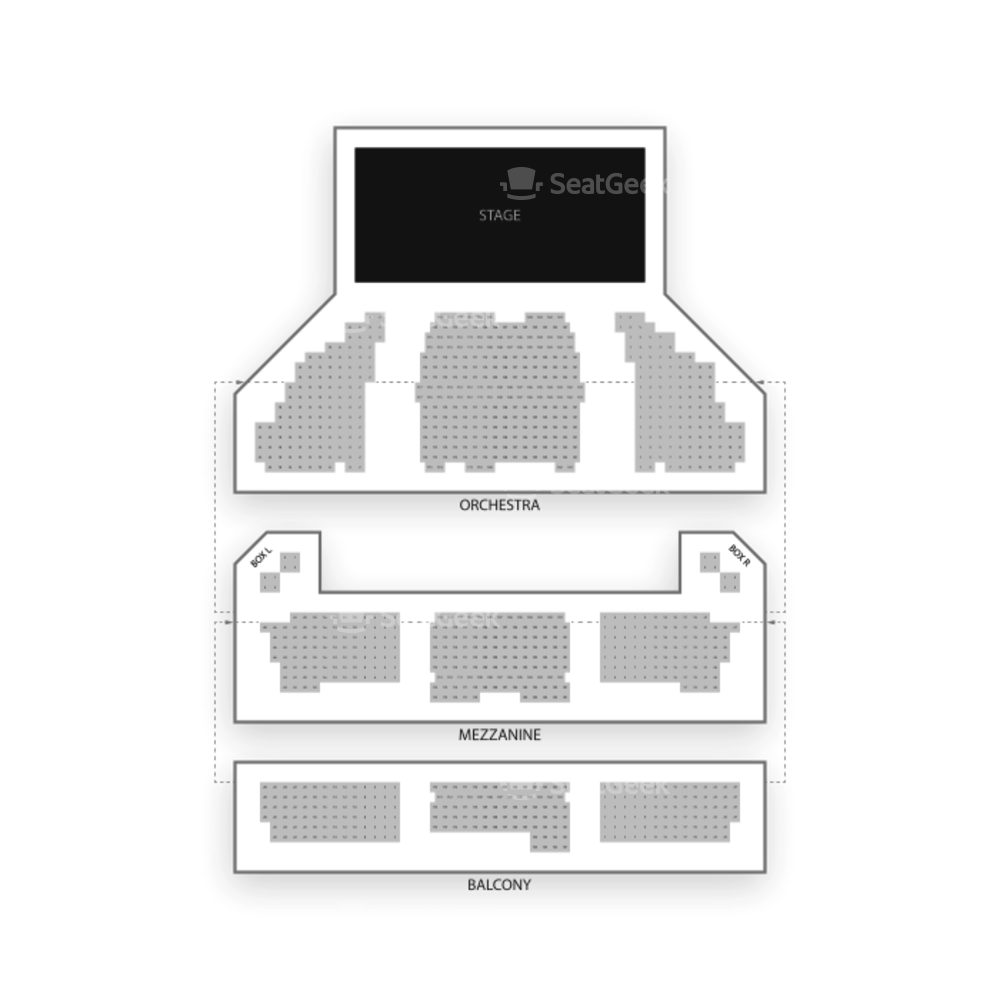 Longacre Theatre Seating Chart Concert