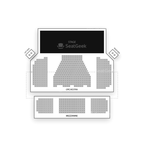 Booth Theatre Seating Chart Concert