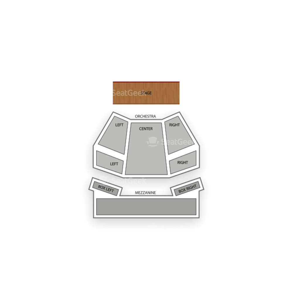 Geffen Playhouse Seating Chart Concert