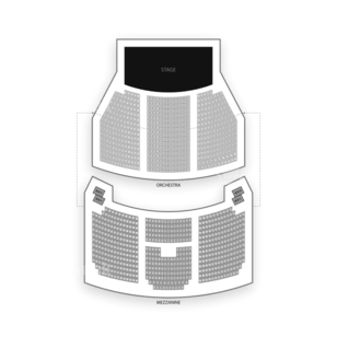 Nederlander Theatre Seating Chart Theater