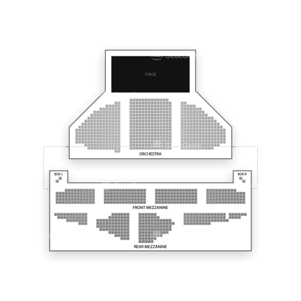 Ambassador Theatre Seating Chart Parking