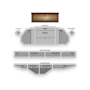 Ambassador Theatre Seating Chart Broadway Tickets National