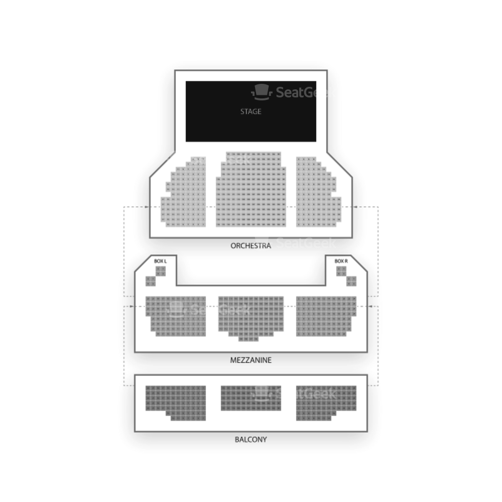 Lyceum Theatre Seating Chart Broadway Tickets National
