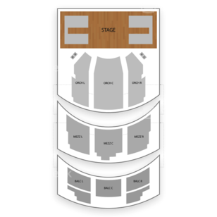 Lyceum Theatre Seating Chart Comedy
