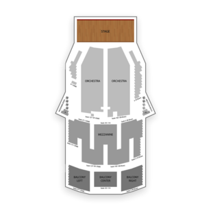 Palace Theatre New York Seating Chart Concert