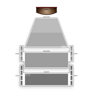 Ahmanson Theatre Seating Chart Theater