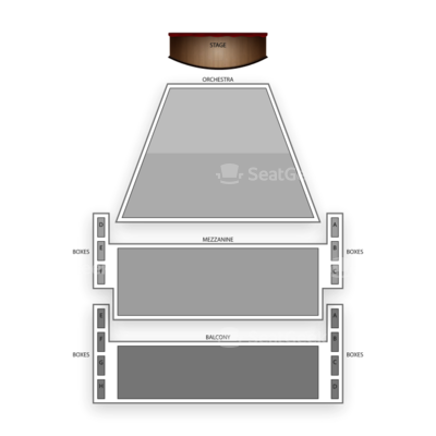 Ahmanson Theatre seating chart Matilda the Musical